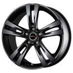 MAK Alloy Wheel Zenith Matt Black, 18x8. 0 5x108 ET45 middle hole 72