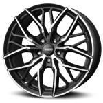 MOMO Alloy Wheel Spider Matt Blk DC, 19x8. 5 5x112 ET30 middle hole 79