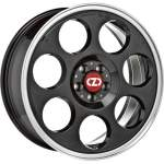 OZ Alloy Wheel Anniversary 45 BlackDC, 17x7. 0 5x112 ET48 middle hole 75