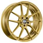 OZ Alloy Wheel Racing Leggera Gold, 17x7. 5 5x100 ET48