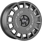 OZ Alloy Wheel Rally Racing Graphite, 17x7. 0 5x108 ET45 middle hole 75