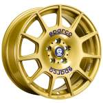 OZ Alloy Wheel Sparco Terra Gold, 17x7. 5 5x100 ET48