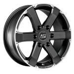 MSW Alloy Wheel 46 matt black, 17x7. 5 6x139. 7 ET20