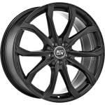 MSW Alloy Wheel 48 Matt Black, 17x7. 5 ET middle hole 73