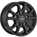 MSW Alloy Wheel 48 Van Matt Black, 16x6. 5 5x120 ET60 middle hole 65