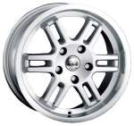 ALESSIO Alloy Wheel 16x7, 5 5x98 ET35 middle hole 69, 1
