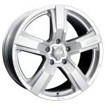OZ Alloy Wheel Racing Versilia, 18x8. 0 ET middle hole 79