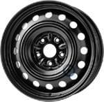 KRONPRINZ 6, 50Jx16CH; 5x114, 3x60; ET 39; steel wheel: Toyota Avensis III